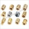 China BNC Connectors Brass Plastic Moulding Inserts for sale