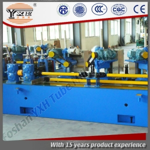 China Durable Rectangle Hand Railings Pipe SS Pipe Making Machine on sale