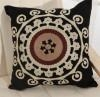 China Cotton canvas Embroidery Decorative Cushion Fashion Pillow (YPL-475) on sale