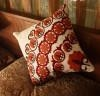China Cotton canvas Embroidery Decorative Cushion Fashion Pillow (YPL-486) on sale