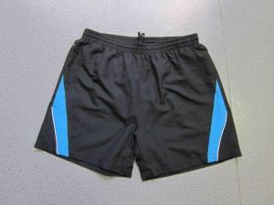 China Mens Microfiber Drawstring Track Shorts Elastic Waist Gym Wear Men on sale