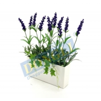 China Fake Indoor Plant Artificial Lavender House Flower Good Decoration for Office 188LVS 12F 20016 on sale