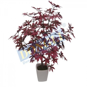 China Artificial Decorative Plant Mini Maple Bonsai Indoor and Outdoor Tree 187LVS (R) W/P 18443 on sale