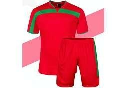 China short sleeve football jerseys 100% Polyester Fast Dry Short Sleeve Sports Football T Shirt on sale