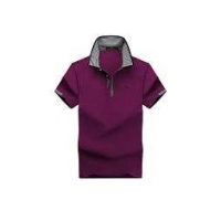 100 cotton polo shirts for men New 100% Cotton Men Short Sleeve Print Polo-shirt