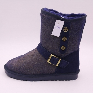 China Winter Lovely Style Wholesale Price and Popular Snow Women Leather Boots Shoes on sale