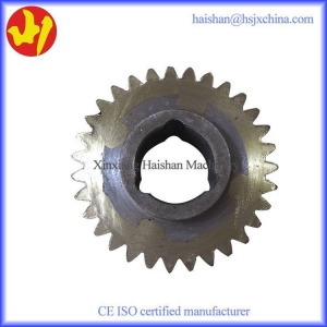 China Reducing machine gearbox copper worm gear with steel on sale