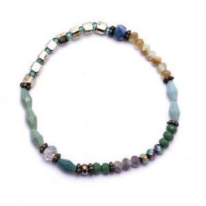 China Yiwu Factories Jewelry Crystal Beads Fashion Bracelet Bangle on sale