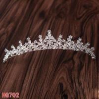 China HG702 Flower Bridal Tiara Wedding Hair Accessories Crystal Tiara Crown Wedding Pageant on sale