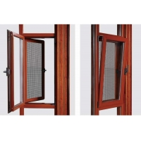 Window Newest Model Thermal Break Aluminum Widow With Mosquito Net