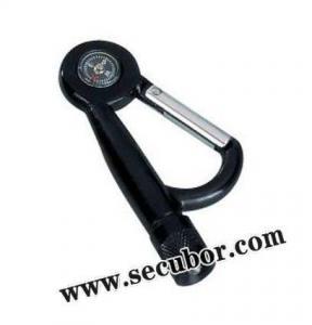 China Multifunctional Bandana Carabiner with Led Light Flashlight on sale