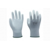 China 13G white nylon liner with white PU coating Gloves for sale