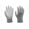 China 13G carbon liner with white PU coating Gloves for sale