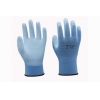 China 13G dyeing nylon liner with PU coating Gloves for sale