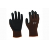 China 13G bamboo fiber/nylon liner with breathable foam latex coating Gloves for sale