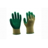 China 10G polyester liner with latex coating Gloves for sale