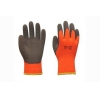 China 10G acrylic terry liner with sandy latex coating gloves for sale