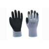 China 10G fleeced polyester liner with latex coating Gloves for sale