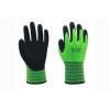 China 13G fleeced Hi-Viz acrylic liner with sandy nitrile coating Gloves for sale