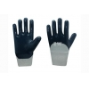 China Interlock liner with  nitrile coating Gloves for sale