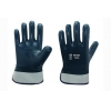 China Cotton Jersey liner with full nitrile coating Gloves for sale