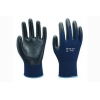 China 13G polyester liner with smooth nitrile coating Gloves for sale