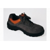 China Cow Suede Anti smashing safety shoes/ Gray for sale