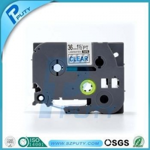 China Compatible TZe163 P-touch TZ tape catridge Used for P-touch labeling machines on sale