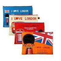 Large-A4 Size Nylon Zipper Travel Pen File Document Pouches