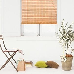China Natural Bamboo Roll Up Window Blind Roman Shade Sun Shade WB-9A1 on sale