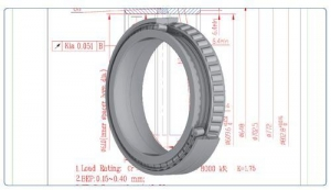 China Double row taper roller bearings on sale