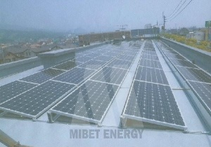 China Rooftop Solar Panel Holder on sale