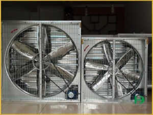 China Environmental control system FJ-JS Poultry Shed Metal Ventilation Fan on sale