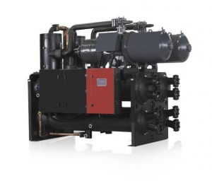 China falling-film screw chiller Geothermal Screw Chiller on sale