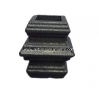 China Ornamental Wrought Iron Cast Steel Column on sale