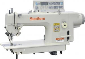 China SS 0303-D3 Direct drive computerized heavy duty compound feed sewing machine on sale