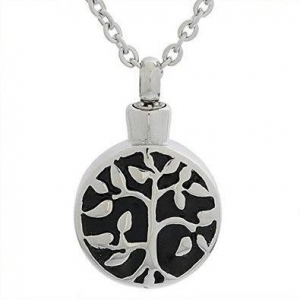 China Tree of Life Keepsake Memorial Urn Necklace Ash Holder Pendant on sale