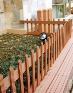 China Low Maintenance Cheap WPC House Fence And Gates on sale