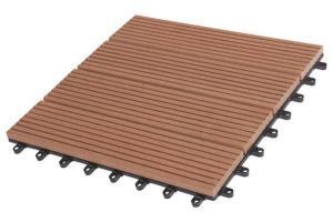 China DIY Tile Waterproof WPC DIY Tile Anti-slip Outdoor WPC DIY Tile on sale