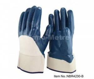 China Oil Industrial Protective Gloves-NBR4230-B on sale