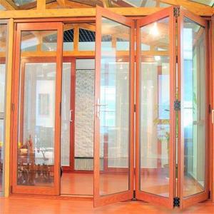 China energy saving aluminum folding internal doors on sale