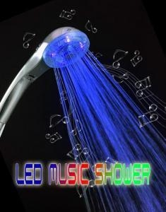 China music led shower head on sale