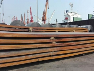 China ASME SA588 Grade CAnti-corrosion Structural Steel on sale