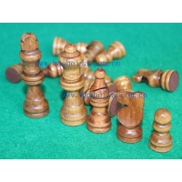China wooden chess pieces on sale