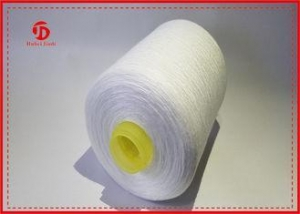 China 50/2 TFO Polyester Knitting / Sewing / Weaving Yarn Recycled Super Bright on sale