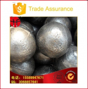 China 17-130mm Casting Steel Ball for Ball Mill on sale
