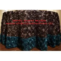 210rosette table cloth