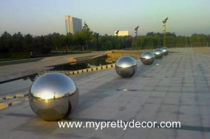 China Stainless Gazing Ball on sale