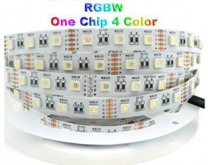 China Newest LED RGBW Strip, SMD 5050 chip 12V High Voltage Strip on sale