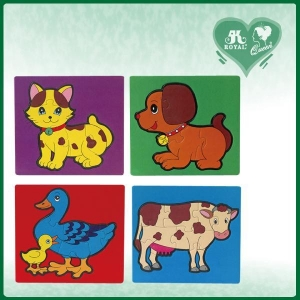 China 4 pieces high quality colorful fashion Mini Puzzle Cards (PZ-A9) on sale